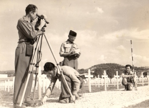 Daniel Guion on the job in Venezuela - 1939