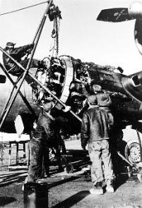 Airplane Mechanic - WWII