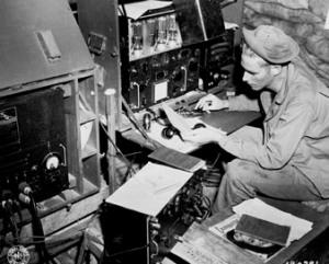 Radioman - WWII