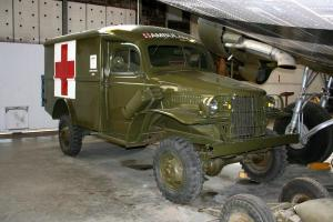 WWII Jeep Ambulance