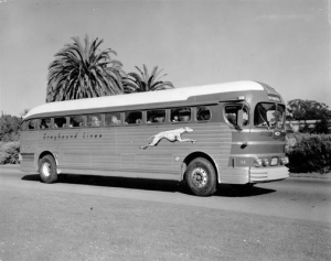 Greyhound Bus 1940's