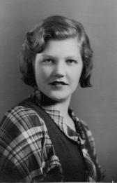 Marian Dunlap Irwin - Berkley High School - 1933