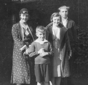 Marian, Don, Margaret and Homer Irwin