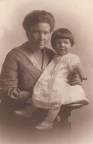 Marian Rider Irwin and Marian Dunlap Irwin - 1915