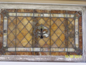 Lincoln Avenue - stained glass window