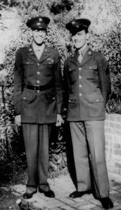 Lad Guion and Vern Eddington, his Best Man