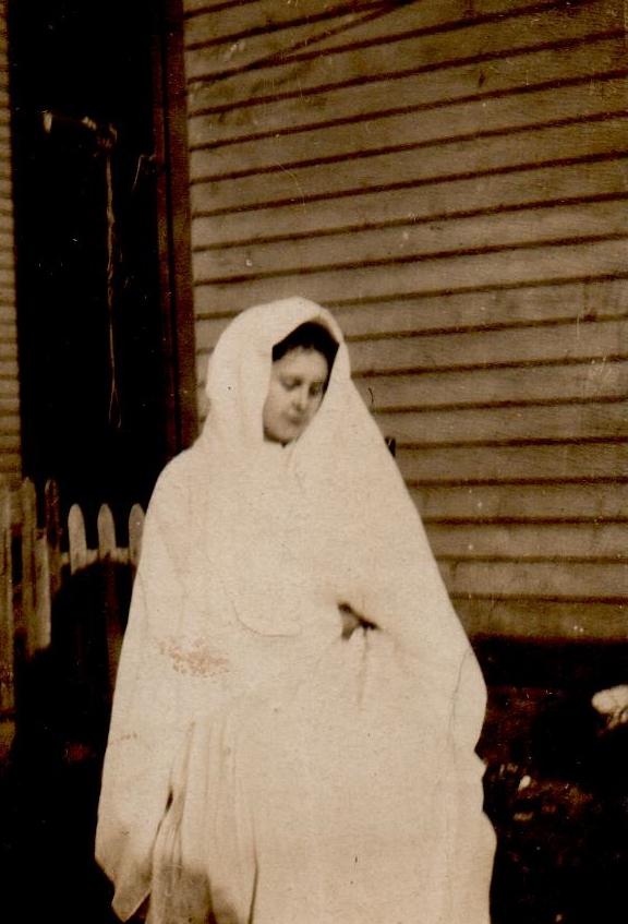 Arla Peabody as the Virgun Mary