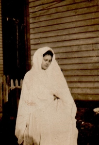 Arla Peabody as The Virgin Mary