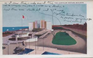 CDG - 1934 Chicago Fair Postcard - The Chrysler Motors Building