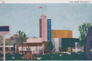 CDG - 1934 Chicago Fair Postcard - The Dairy Building