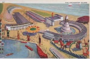 CDG - 1934 Chicago Fair Postcard - The Enchanted Island