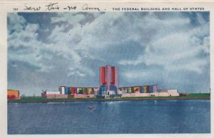 CDG - 1934 Chicago Fair Postcard - The Federal Building and Hall of States