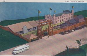 CDG - 1934 Chicago Fair Postcard - The Lincoln Group