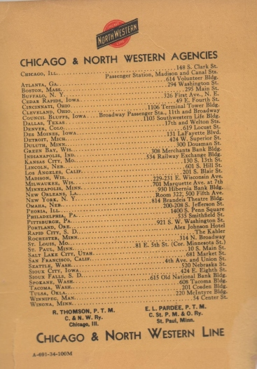 CDG - Chicago Fair - 1934 (Chicago and North Western Line) (2)