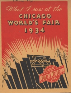 CDG - Chicago Fair - 1934 (cover)