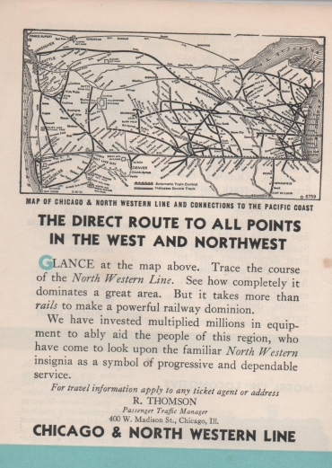 CDG - Chicago Fair - 1934 (The Direct Route to All Points in the West and Northwest) (2)