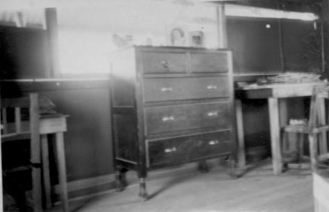 Lad's Bureau and Desk