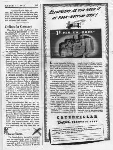 Blog - Diesel Streamliners article - March 15, 1941 - pg. 1