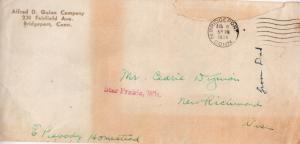 CDG - Grandpa's envelope - Aug 8, 1934