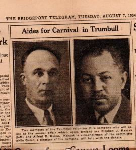 CDG - Grandpa's letter, Aug 8, 1934 - Carnival paper artucle - 1934