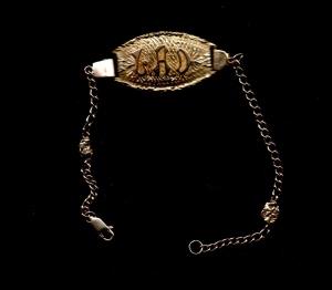 Lad - LAD bracelet in gold