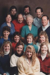 APG - The entire family - Christmas, 1989
