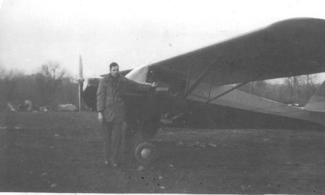 Ced in Alaska with airplane - 1940