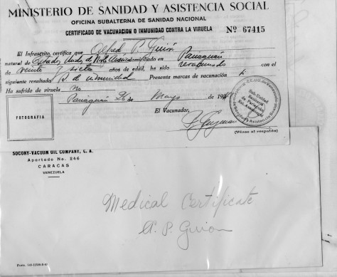 Lad - Medical Form 2 - 1941