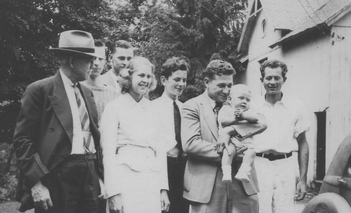 BISS - Family with Zeke holding Butch