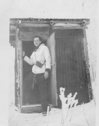 DBG - Dan in Alaskan doorway-1940
