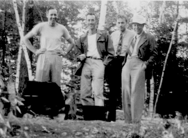 ADG - Grandpa and the boys on Spring Island (cropped) - 1948