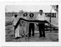 APG - Flor Wiliams with snakeskin - 1945