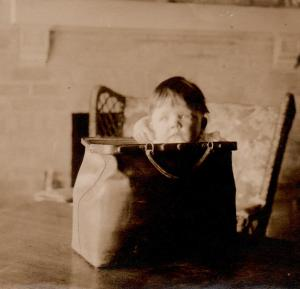 Marian in a Doctor's Bag - March, 1916