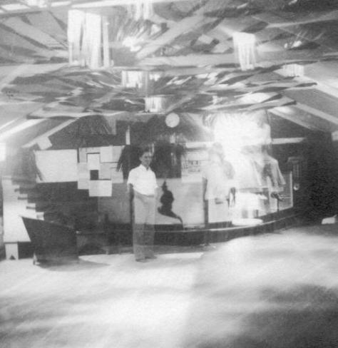 APG - Clubhouse iInterior at Pariaguan - 1940