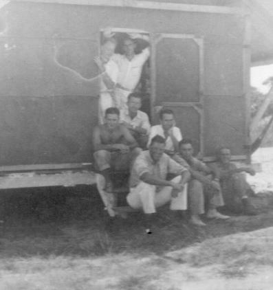 APG - The Gang at the Clubhouse in Pariaguan - 1940