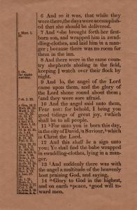 ADG - 1955 Christmas Card - New Testament - page 1