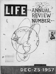 ADG - 1957 Christmas card - LIFE - cover