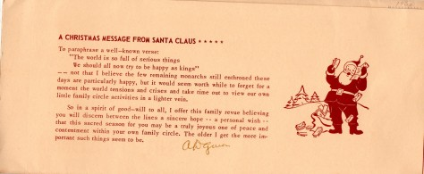 ADG - 1960 Christmas Card - Vignettes - message