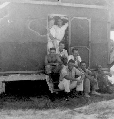 APG - The bunch at Pariaguan - 1940