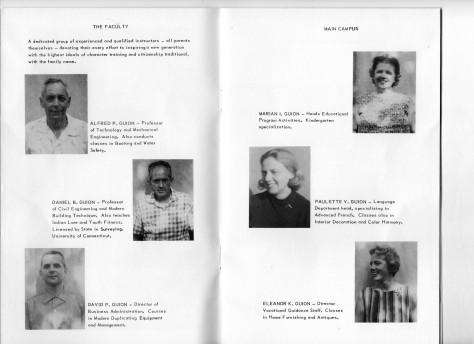 ADG - 1964 Christmas Card - Faculty - Main Campus