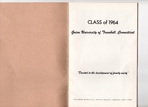 ADG - 1964 Christmas Card - Title page