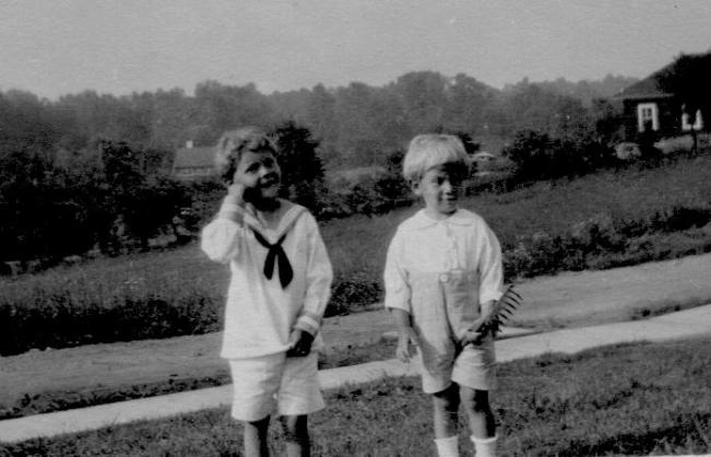 APG - Lad and Dan - Larchmont, NY - June, 1918