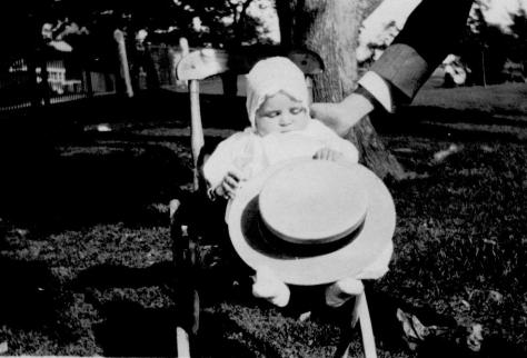 APG - Lad at his Christening - July, 1914