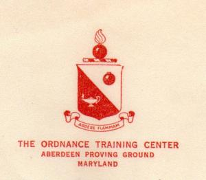 APG - Aberdeen Proving Grounds insignia
