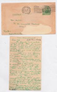 CDG - Helen Burnham to Ced - Aug., 8, 1934