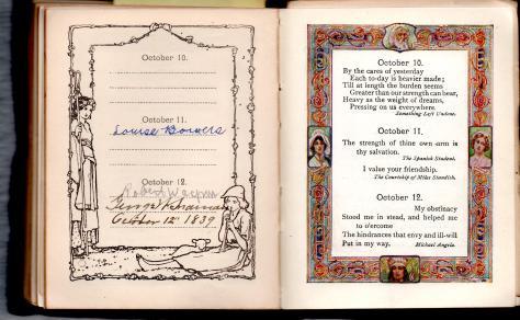 MIG - Birthday Book - George W. Snamen, 10.12.1839