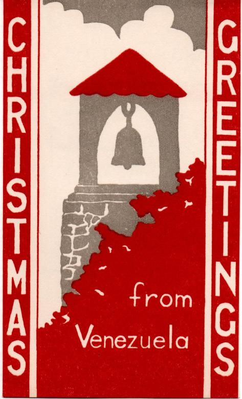 APG - Christmas cards - from Flor and Martin Williams - front - 1941