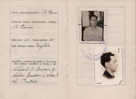 APG - Lad's ID in Venezuela - pages 4-5 - 1940