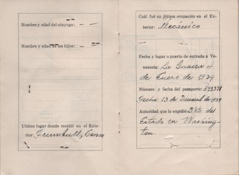 APG - Lad's ID in Venezuela - pages 6-7 - 1940