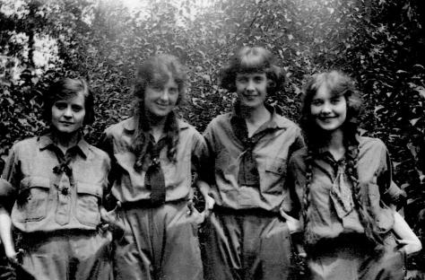 Anne Westlin Peabody, Arla Mary Peabody, Helen Perry Peabody, Dorothy Westlin Peabody